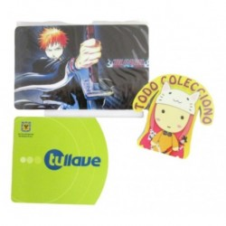 Personaliza Tarjeta Trasporte Sticker Anime Bleach No.9 (Entrega Inmediata)