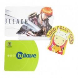 Personaliza Tarjeta Trasporte Sticker Anime Bleach No.11 (Entrega Inmediata)