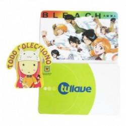 Personaliza Tarjeta Trasporte Sticker Anime Bleach No.15 (Entrega Inmediata)