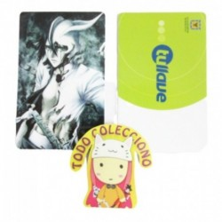 Personaliza Tarjeta Trasporte Sticker Anime Bleach No.18 (Entrega Inmediata)