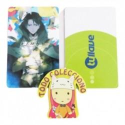 Tarjeta Trasporte Sticker Anime Attack On Tittan (Entrega Inmediata)