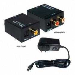 Convertidor De Audio Digital Óptico Y Coaxial A Análog Rca (Entrega Inmediata)