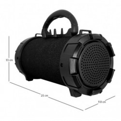 Parlante Bluetooth Bazooka Dd-boomm5000 Design (Entrega Inmediata)