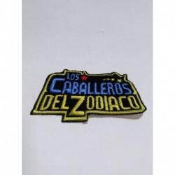 Saint Seiya Caballeros Del Zodiaco Parche Aplique Bordado (Entrega Inmediata)