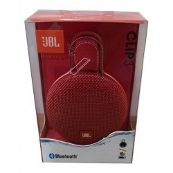 Parlante Jbl Clip 3 Bluetooth 10h Resistente Agua Portable (Entrega Inmediata)