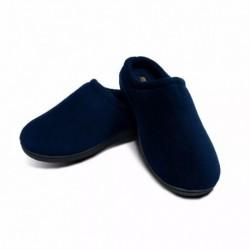 Pantuflas Suela Viscoelastica Memory Foam Slipper Azul M (Entrega Inmediata)