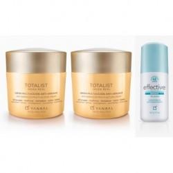 Crema Totalist Jalea Real X2 + Desodorante Effective Yanbal (Entrega Inmediata)