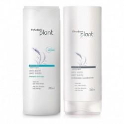 Shampoo Anticaspa Y Acondicionador Liso Y Suelto Natura (Entrega Inmediata)