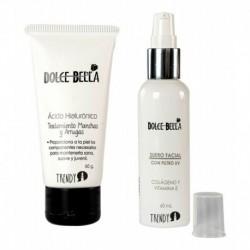 Acido Hialuronico Y Suero Facial Con Filtro Uv Dolce Bella (Entrega Inmediata)