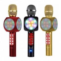 Microfono Parlante Karaoke Recargable Bluetooth Usb Ws1816 (Entrega Inmediata)