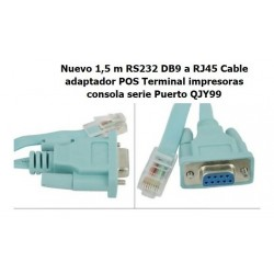 Cable Serial Conector Rs232 A Rj45 Routers Y Consolas Cisco (Entrega Inmediata)