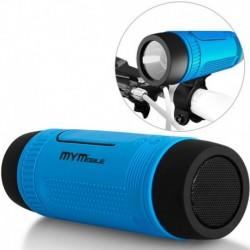 Parlante Para Bicicleta Con Bluetooth Linterna Power Bank (Entrega Inmediata)