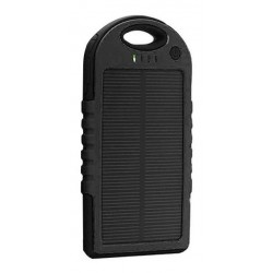 Power Bank Cargador Batería Externa Panel Solar 5000mah Usb (Entrega Inmediata)