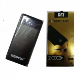 Power Bank Cargador Viaje Cat Americano Portatil 20000 Mah (Entrega Inmediata)