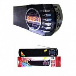 Radio Clasico Abuelito Usb Recargable Linterna Am/fm Mp3 (Entrega Inmediata)