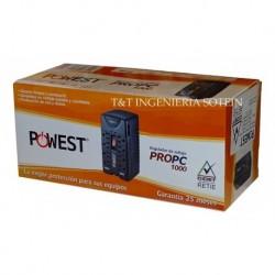 Regulador De Voltaje De 1000 Va Propc Powest Nuevo (Entrega Inmediata)
