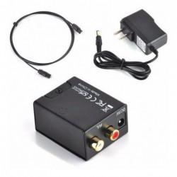 Convertidor De Audio Optico A Rca Analogico Fibra Optica (Entrega Inmediata)