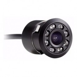 Cámara De Reversa Para Auto Infrarrojo 21mm Visión Nocturna (Entrega Inmediata)