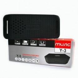 Speaker Parlante Bluetooth Con Radio Fm Sd Modelo Y3 (Entrega Inmediata)