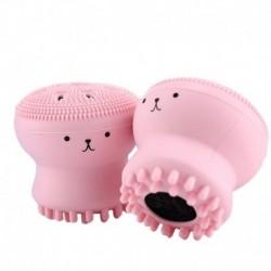 Cepillo Silicona Limpieza Pulpo Cuidado Facial Piel Derma (Entrega Inmediata)