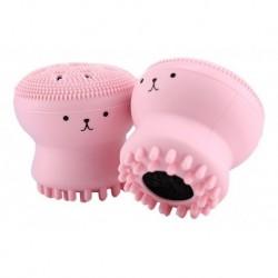 Cepillo Masajeador Limpieza Facial Piel Forma Pulpo Derma (Entrega Inmediata)