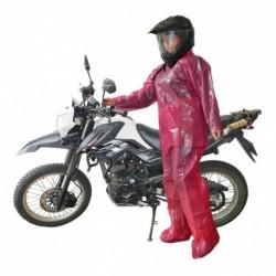 Impermeable Desechable Para Moto Bicicleta De Tres Piezas (Entrega Inmediata)