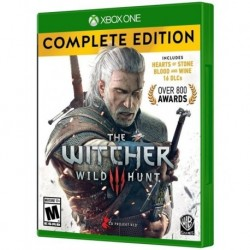 The Witcher 3 Complete Edition Xbox One . Físico. (Entrega Inmediata)