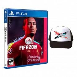 Fifa 20 Ps4. Champions Edition + Gorra. Fisico Y Sellado (Entrega Inmediata)