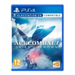 Ace Combat 7 Skies Unknown Ps4. Físico Y Sellado. (Entrega Inmediata)