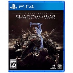 Middle Earth Shadow Of War Ps4 Nuevo Fisico. Sellado Español (Entrega Inmediata)
