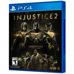 Injustice 2 Legendary Edition Ps4 Fisico, Sellado. Español. (Entrega Inmediata)