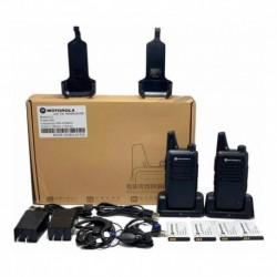 Par Radios Comunicación C1 16 Canales Uhf Radio (Entrega Inmediata)