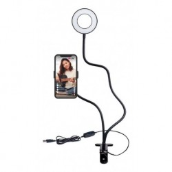 Aro Luz Led Celular + Holder Pinza 3 Tonos Flexible (Entrega Inmediata)
