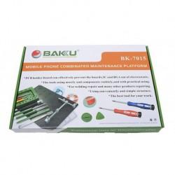 Kit Completo Herramientas / Servicio Técnico Celular Bk-7015 (Entrega Inmediata)