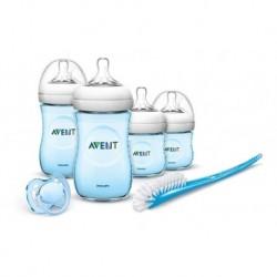 Set Kit Teteros Biberon Avent Natural Anti Cólicos Bebe (Entrega Inmediata)