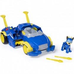 Auto Vehículo Paw Patrol Powered Up Cruiser Lanzador Chase (Entrega Inmediata)