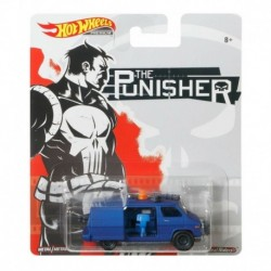 Auto Hot Wheels The Punisher Van Real Riders Marvel Original (Entrega Inmediata)
