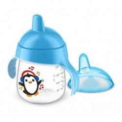 Vaso Avent Pinguino Entrenador 9oz 260ml 12m+ Azul (Entrega Inmediata)