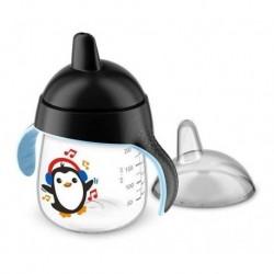 Vaso Avent Pinguino Entrenador 9oz 260ml 12m+ Negro (Entrega Inmediata)