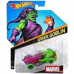 Hot Wheels Carro Auto Duende Verde Marvel Escala 1/64 (Entrega Inmediata)
