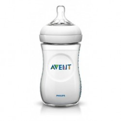 Avent Tetero Biberon Natural 9oz 260 Ml X1 1m+ (Entrega Inmediata)