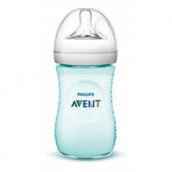 Avent Tetero Biberón Natural 9oz 260 Ml Verde Original (Entrega Inmediata)