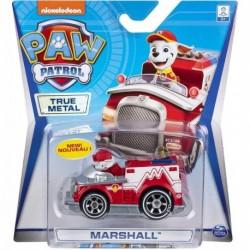 Auto Vehículo Paw Patrol True Metal Metálico Marshall (Entrega Inmediata)