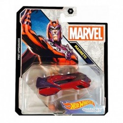 Auto Hot Wheels Marvel Magneto Carro Colección Nuevo Modelo (Entrega Inmediata)