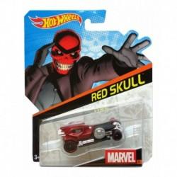 Carrito Carro Hot Wheels Marvel Red Skull Colección (Entrega Inmediata)