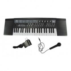 Piano Organeta Eléctrica Usb Mp3 44 Teclas Musica + Microfon (Entrega Inmediata)