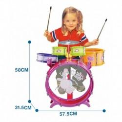 Bateria Musical Niña 5 Tambores Juguete (Entrega Inmediata)