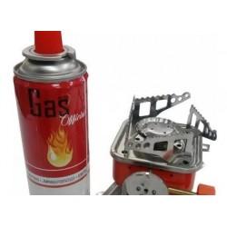 Set X 6 Tanques Gas Butano Ideal Estufas Para Camping+estufa (Entrega Inmediata)