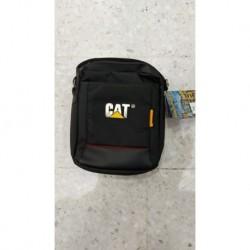 Bolso Manos Libres 6 Compartimentos Cat Negro (Entrega Inmediata)