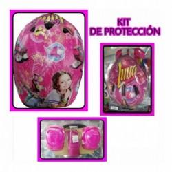 Kit De Protección Patinaje Soy Luna Frozen Y Princesa (Entrega Inmediata)